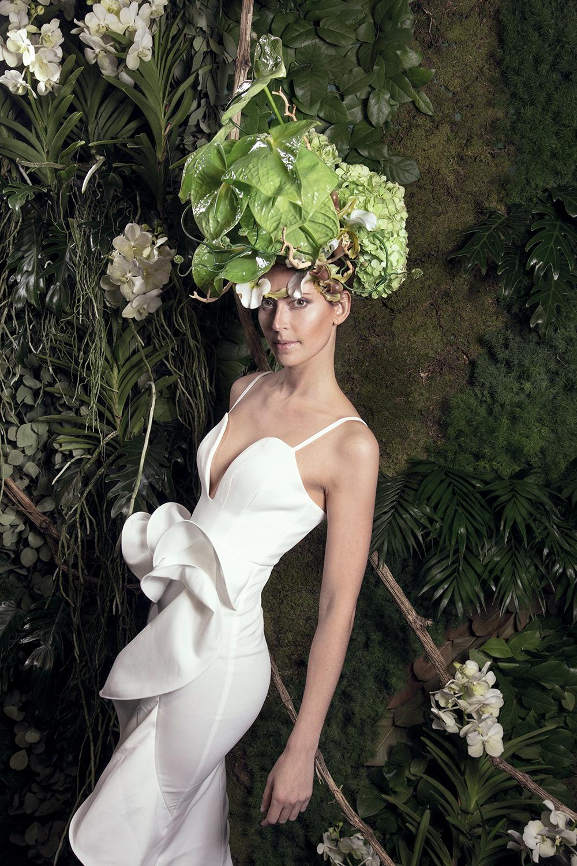 composizioni floreali d'alta moda