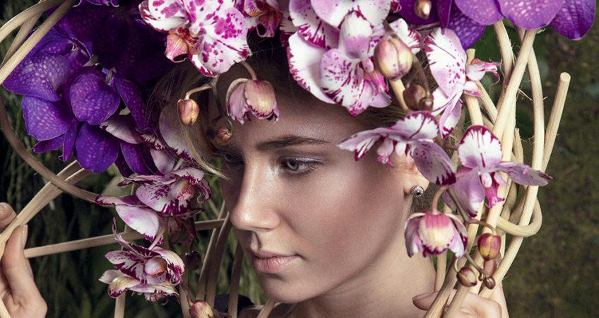 composizioni floreali alta moda