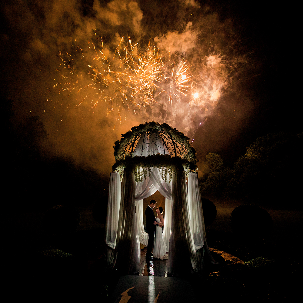 fuochi artificio nozze
