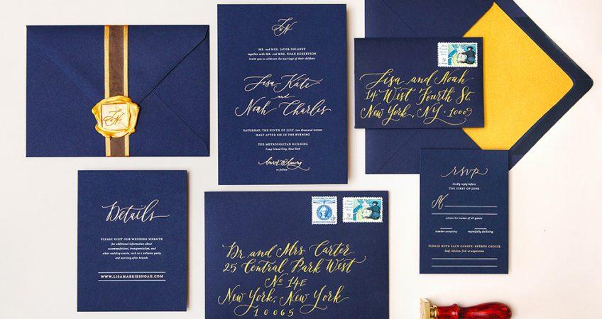 charmaine calligraphy inviti matrimonio