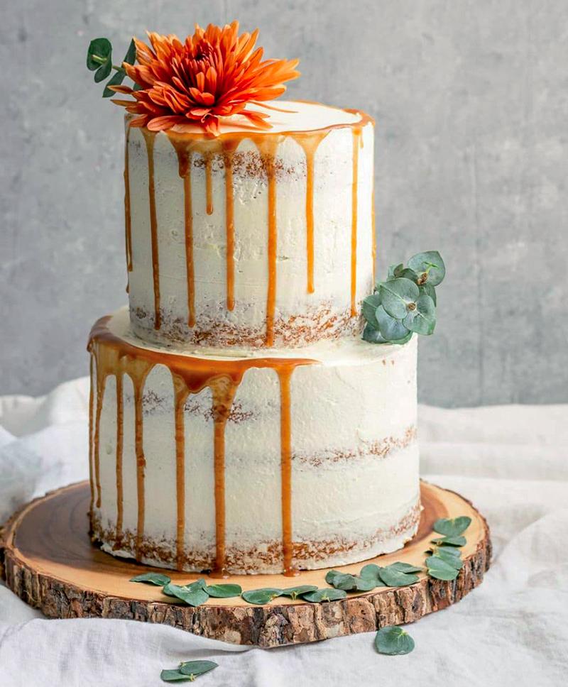 torta matrimonio vegana